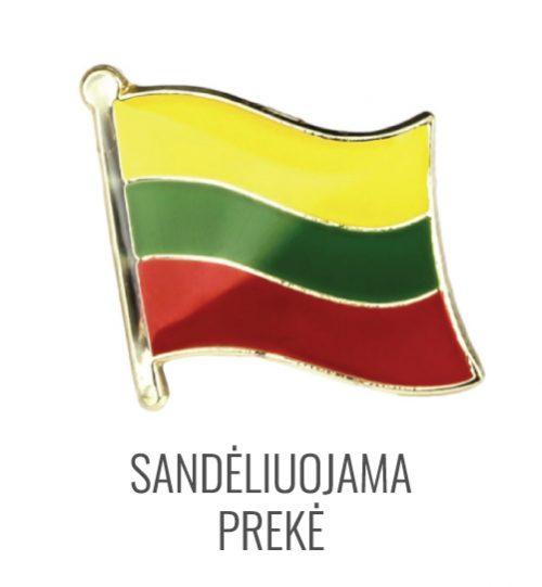 Ženkliukas Lietuvos vėliava