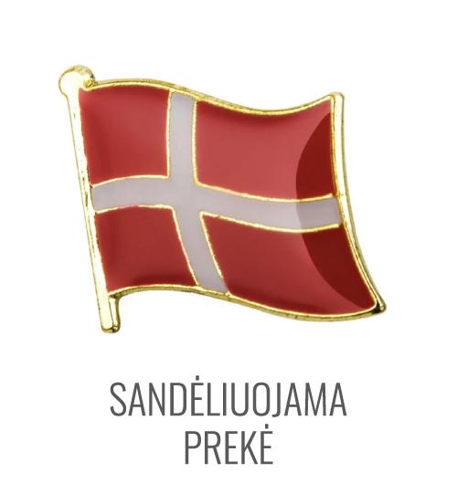 Ženkliukas Danijos vėliava