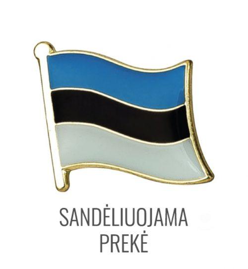 Ženkliukas Estijos vėliava