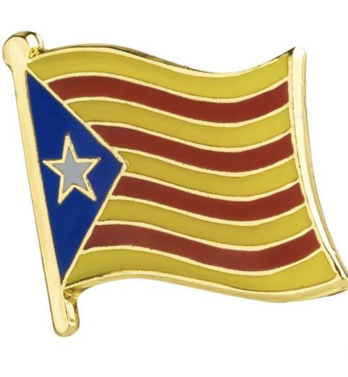 Ženkliukas Katalonijos vėliava