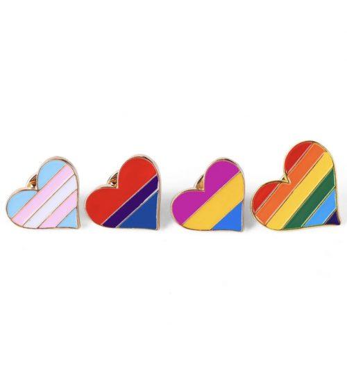 Ženkliukas Vaivorykštė LGBT širdelė 2
