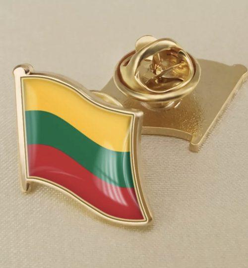 Ženkliukas Lietuvos vėliava puff