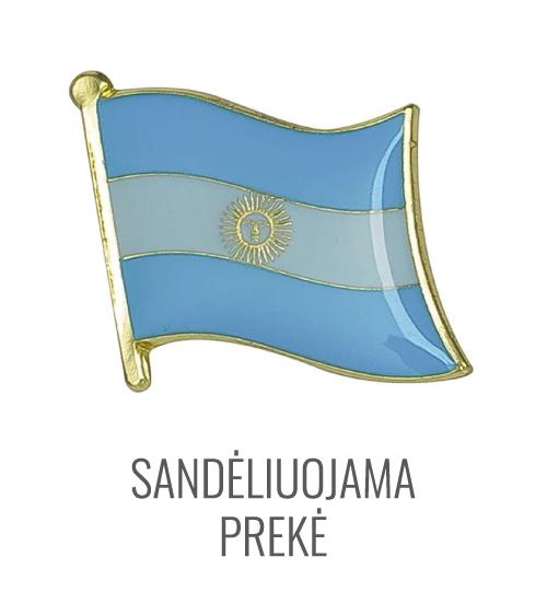 Ženkliukas Argentinos vėliava