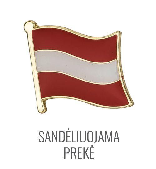 Ženkliukas Austrijos vėliava