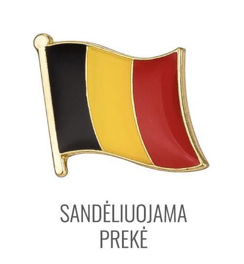 Ženkliukas Belgijos vėliava
