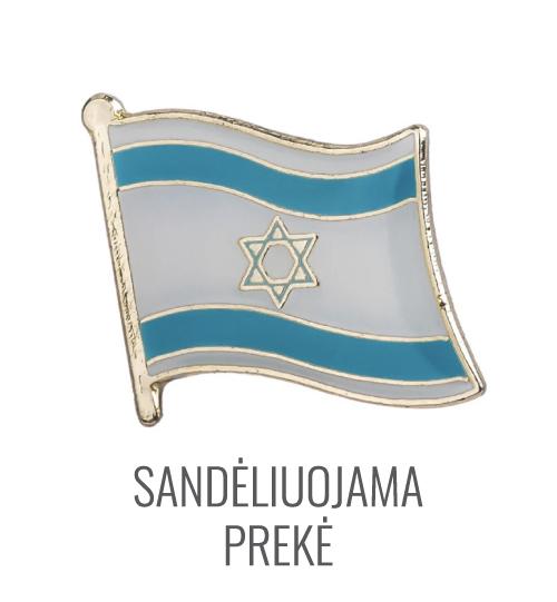Ženkliukas Izraelio vėliava