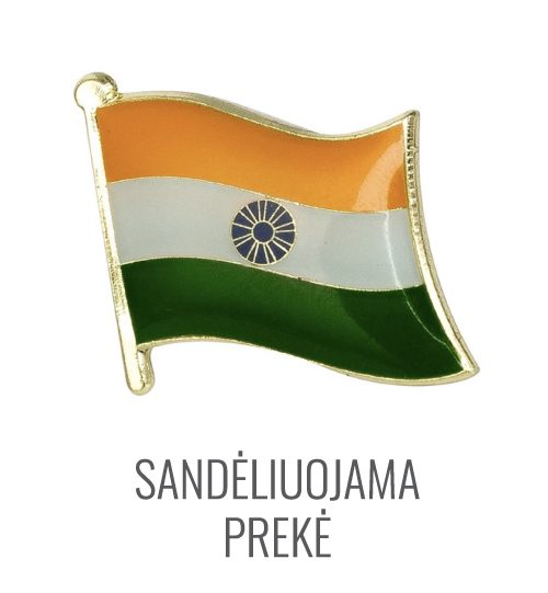 Ženkliukas Indijos vėliava