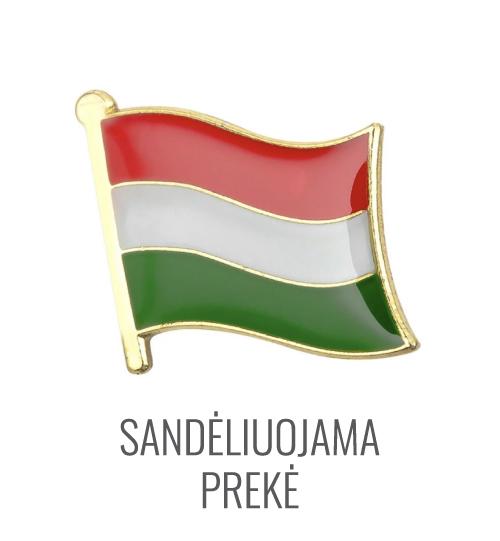 Ženkliukas Vengrijos vėliava