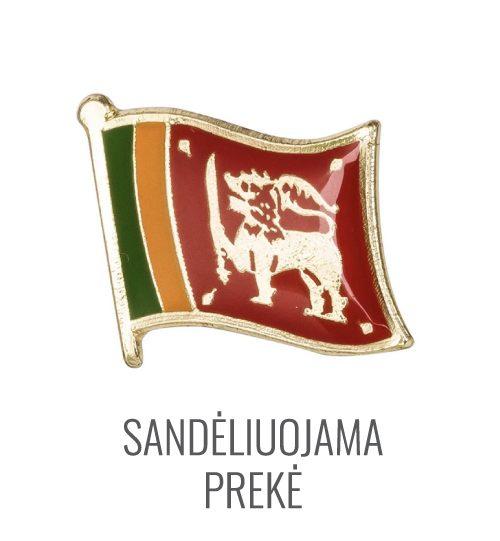 Ženkliukas Šri Lankos vėliava
