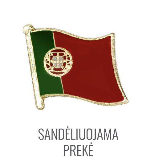 Ženkliukas Portugalijos vėliava
