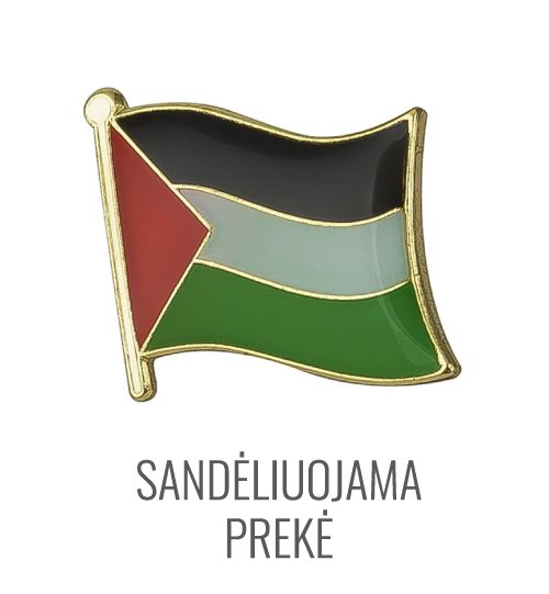 Ženkliukas Palestinos vėliava