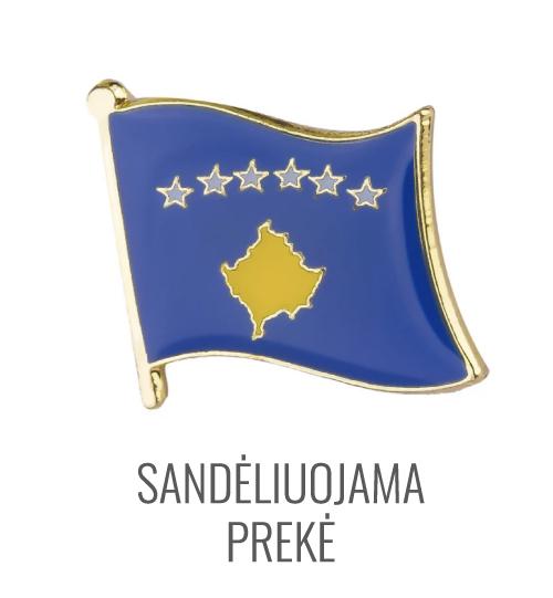 Ženkliukas Kosovo vėliava