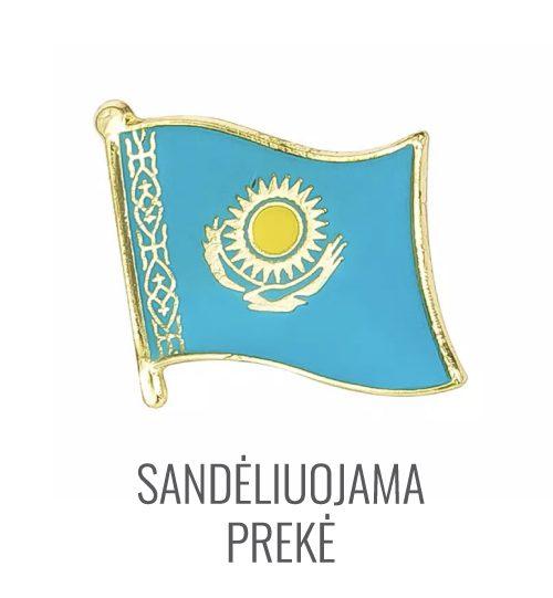 Ženkliukas Kazakstano vėliava