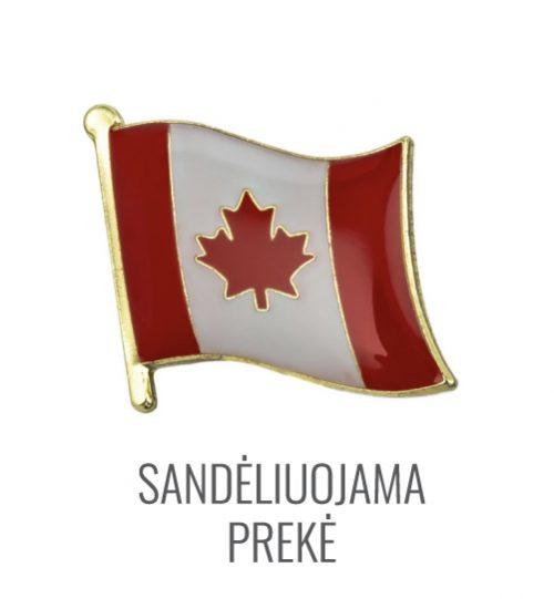 Ženkliukas Kanados vėliava