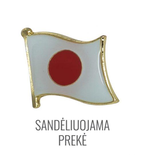 Ženkliukas Japonijos vėliava