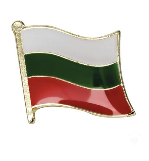 Ženkliukas Bulgarijos vėliava (Ženkliukų gamyba)