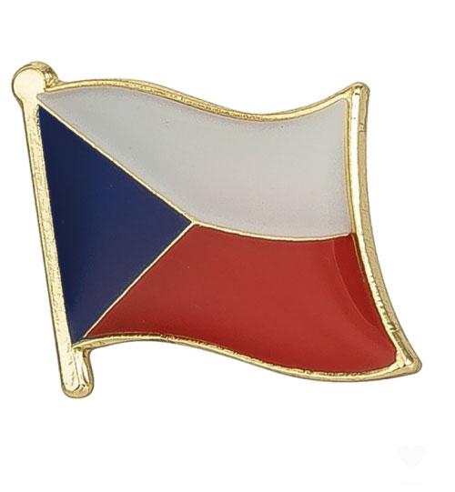 Ženkliukas Čekijos vėliava