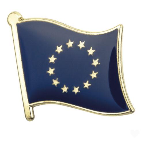 Ženkliukas Europos sąjungos vėliava