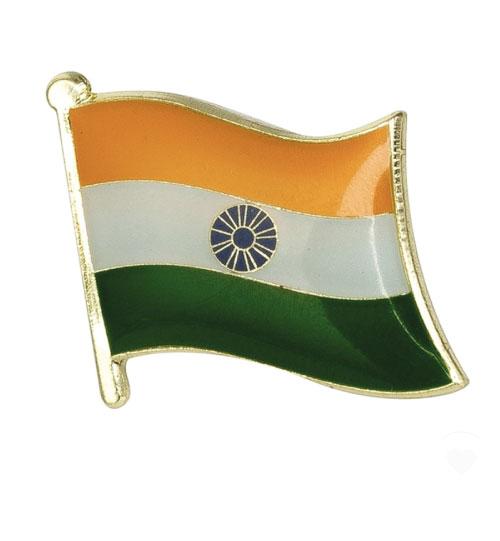 Ženkliukas Indijos vėliava (ženkliukų gamyba)