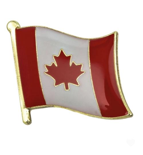 Ženkliukas Kanados vėliava (ženkliukų gamyba)