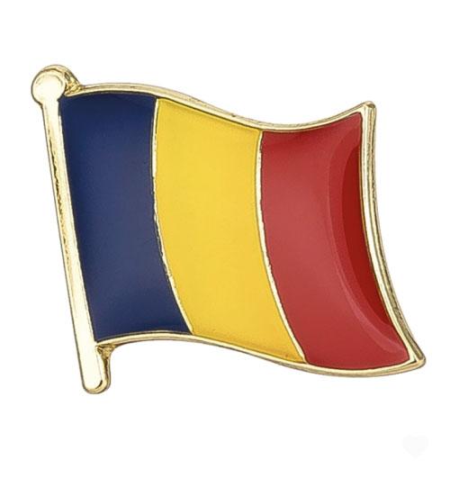 Ženkliukas Rumunijos vėliava (Ženkliukų gamyba)