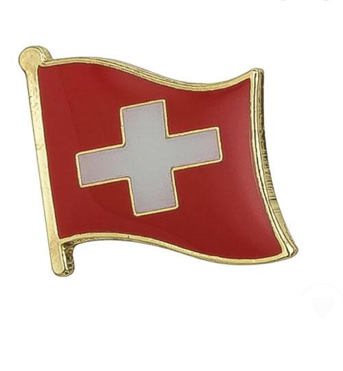 Ženkliukas Šveicarijos vėliava