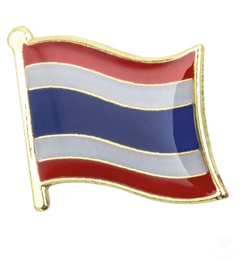 Ženkliukų gamyba: ženkliukas Tailando vėliava
